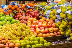 Free Fruit And Vegetable Department With Numerous Varieties Stock Photos - 137437493