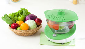 Fruit And Vegetable Ozone Cleaner Machine Royalty Free Stock Photo