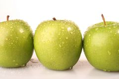 Fruit - Apple. The apple fruit is good for health Royalty Free Stock Photos