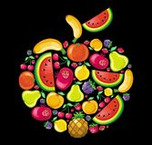 Fruit apple Stock Images