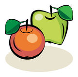 Fruit, Apple Royalty Free Stock Images