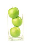 Fruit - Apple isolated. The apple fruit is good for health Royalty Free Stock Photography