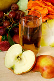 Fruit, apple juice Stock Photography