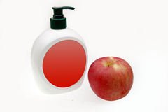 Fruit aroma hand sanitizer Royalty Free Stock Photo
