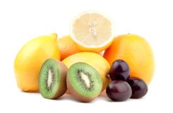Fruit arrangement Royalty Free Stock Photography