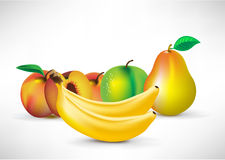 Fruit arrangement Stock Photography