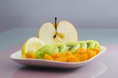 Fruit arrangement Stock Photos