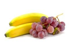 Fruit arrangement isolated on white Royalty Free Stock Photography