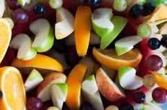 Fruit as a desert. A fruit cocktail as a desert, Malaysian food Stock Photography
