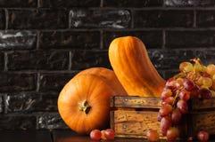 Fruit Autumn. Gifts of Autumn. Stock Photo