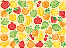 Fruit background Royalty Free Stock Images