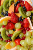 Fruit background. Funny and healthy colors Royalty Free Stock Image