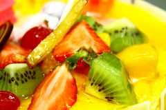 Fruit background. Close-up. Stock Photography