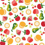 Fruit background in Flat Stock Image