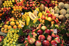 Fruit. Background - fresh  at the market Royalty Free Stock Images