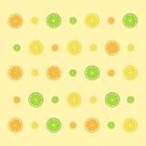 Fruit background. Lime, orange and lemon Stock Photo