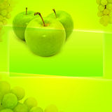 Fruit Background with Space for Text Royalty Free Stock Image