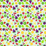 Fruit background texture bright colorful pattern Royalty Free Stock Images