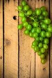 Fruit background vintage wooden autumn food nature Stock Photo