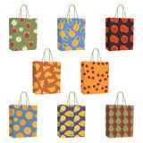 Fruit bags Royalty Free Stock Images