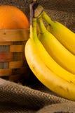 Fruit & Bananas Stock Photo