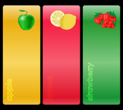 Fruit banner royalty free stock image