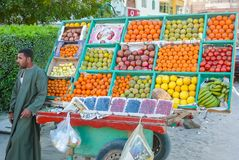Fruit banquet waiting for customers