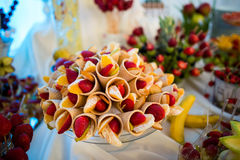 Fruit bar Stock Images
