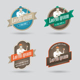 Fruit based product label Royalty Free Stock Photos