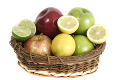 Fruit Basket 1 Royalty Free Stock Image