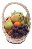 Fruit in the basket Stock Photo