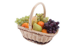 Fruit in the basket Royalty Free Stock Photo