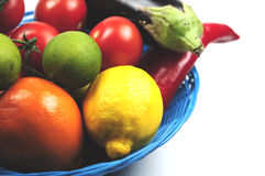 Free Fruit Basket Royalty Free Stock Photography - 11791697
