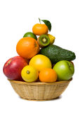 Fruit basket Stock Photos