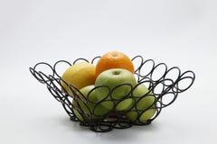 Fruit basket Stock Photography