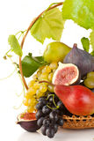 Fruit basket. Royalty Free Stock Photo