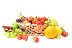 Fruit basket Royalty Free Stock Photos