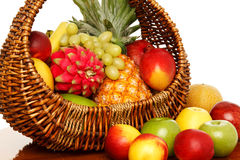 Fruit basket. Royalty Free Stock Images