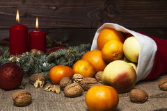 Fruit Basket Stock Photography