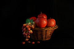Fruit basket arrangement. Stock Photography