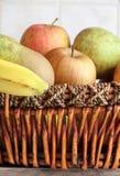 Fruit basket Royalty Free Stock Photos