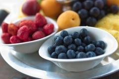 Fruit basket, fruit harvest Stock Photo
