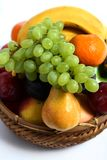 Fruit basket vertical Stock Image