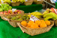 Fruit in Baskets. Royalty Free Stock Images