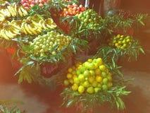 Fruit baskets Stock Photography