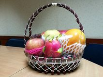 Fruit baskets are one of the most popular festivals Stock Photos