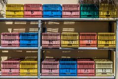 Fruit baskets royalty free stock image