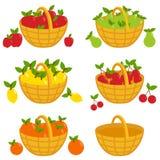 Fruit baskets Stock Photo