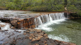 Fruit Bat Falls is in the remote area of North Queensland. North of Cairns Royalty Free Stock Photos
