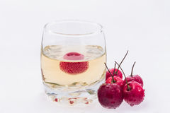 Fruit beer Royalty Free Stock Photography